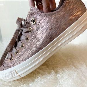 Converse Metallic Chuck Taylor All-Star Shoes